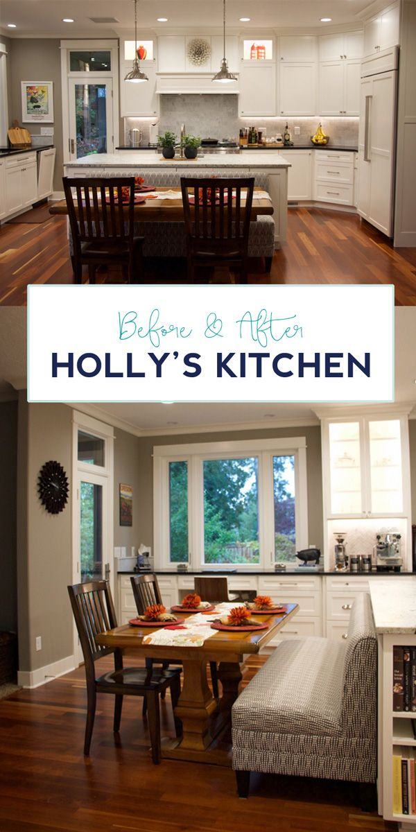 Check out this STUNNING kitchen remodel. She thought of every last detail. Click through to see the full before and after.