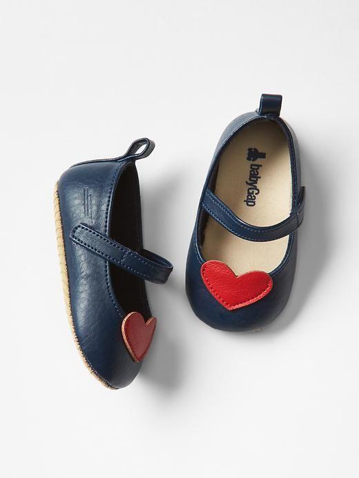 Heart mary jane flats | Gap - These make me melt!