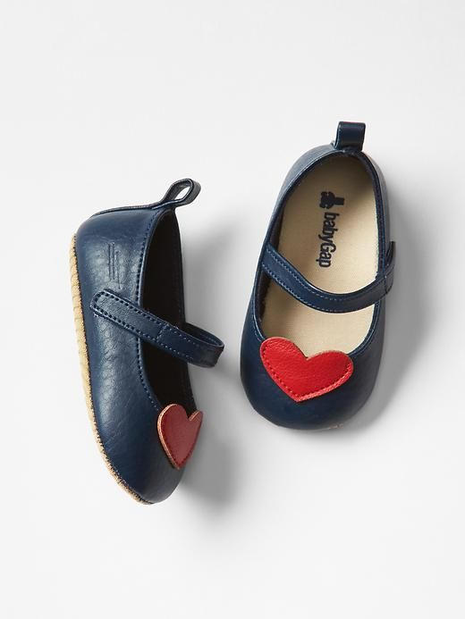 Heart mary jane flats | Gap - These make me melt!