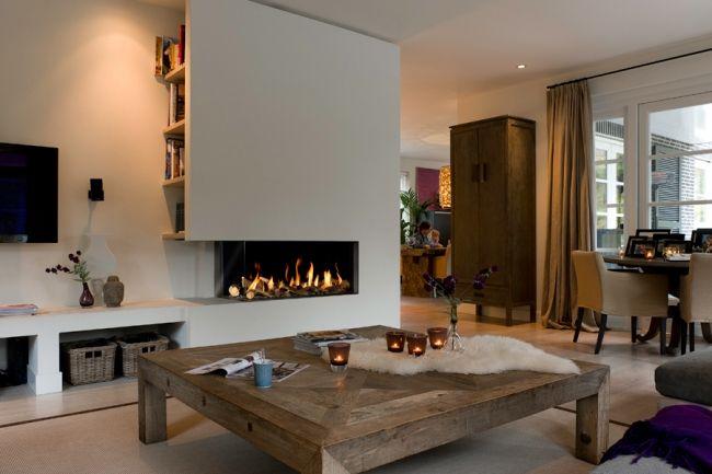 Poser un foyer de cheminée