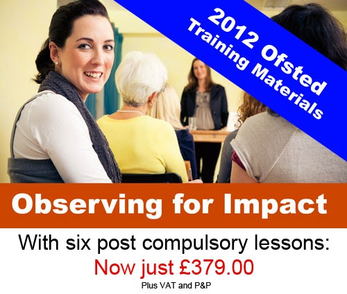 Post 16 Lessons with Observation Training