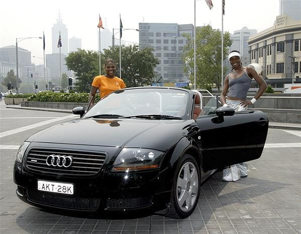 foto del auto de Venus Williams Audi