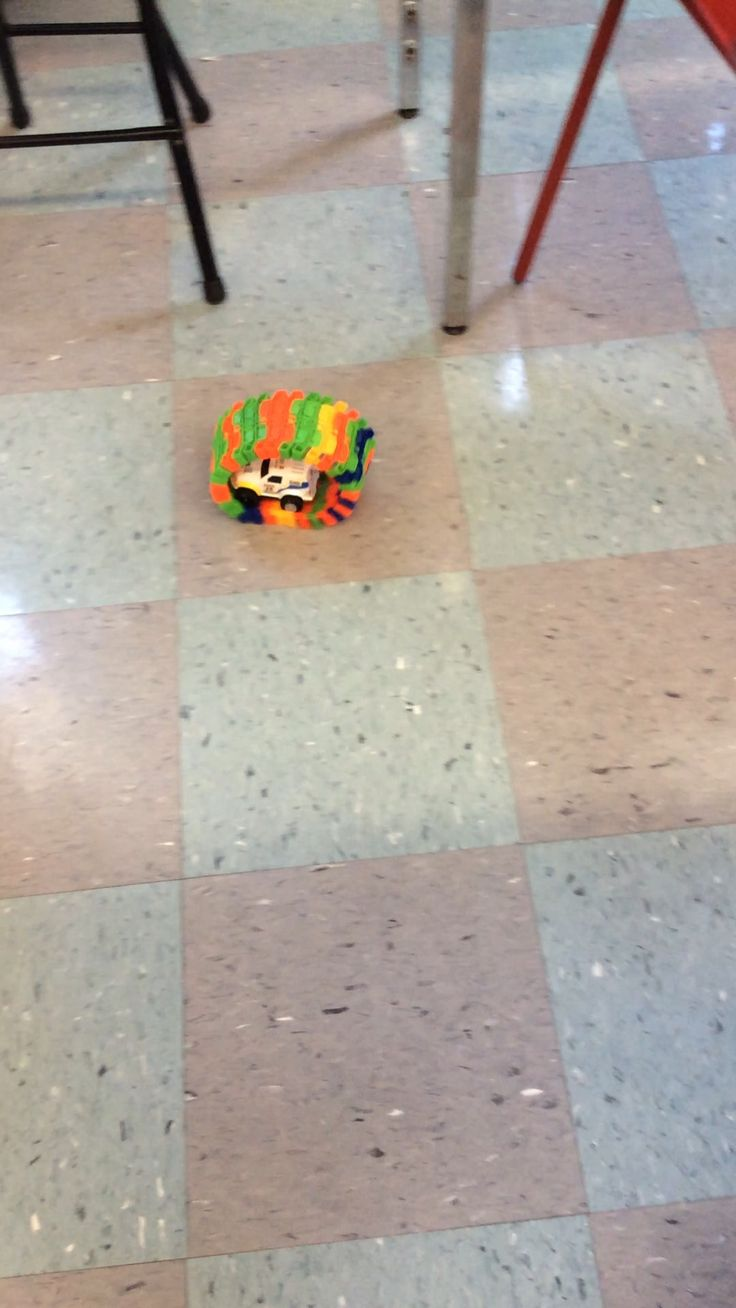Moving car in makerspace