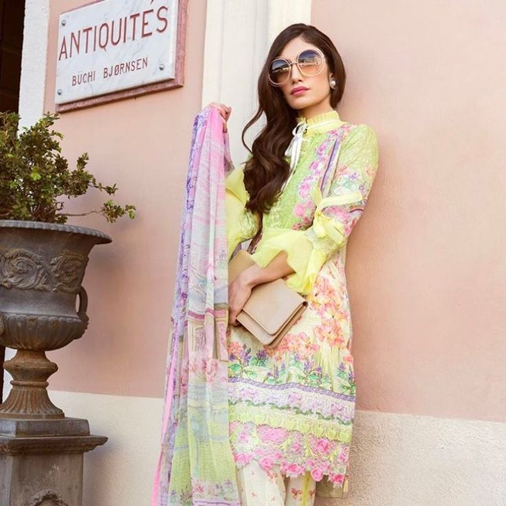 Farah Talib Aziz Pakistani casual wear
