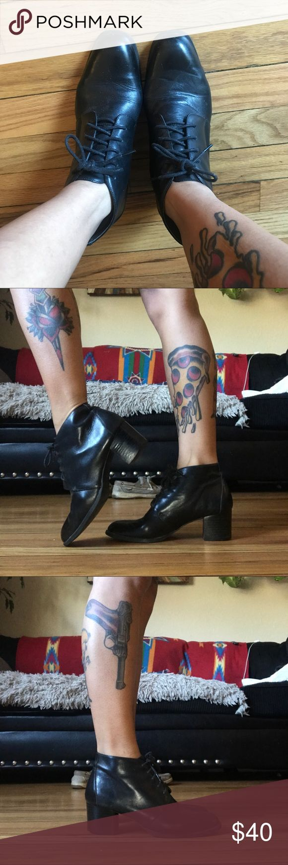 80s Vintage Ankle Boots 💥OFFERS ACCEPTED💥  ALSO: ▪️Items are always in good condition. ▪️Items are always listed as described, no returns. ▪️Ask questions before purchasing! Shoes Ankle Boots & Booties