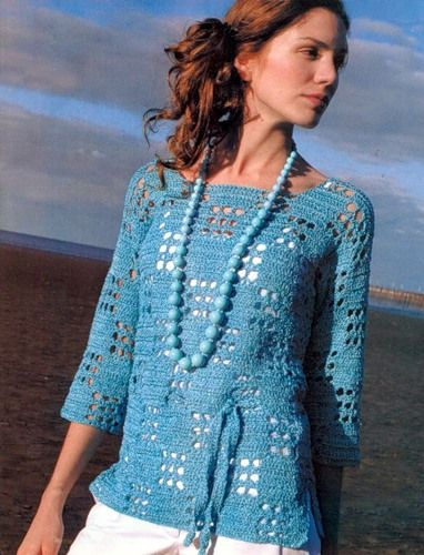 pretty tunic with diagram