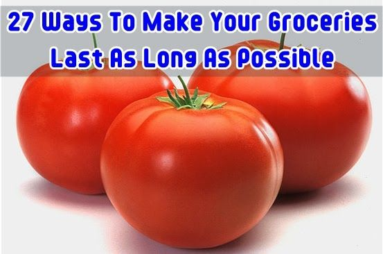 Diy Projects: 27 Ways To Make Your Groceries Last As Long As Possible