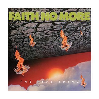 """L'album dei #FaithNoMore intitolato """"The Real Thing"""" su doppio CD."""