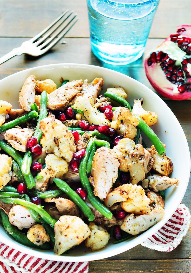 #chicken #salad sałatka na ciepło