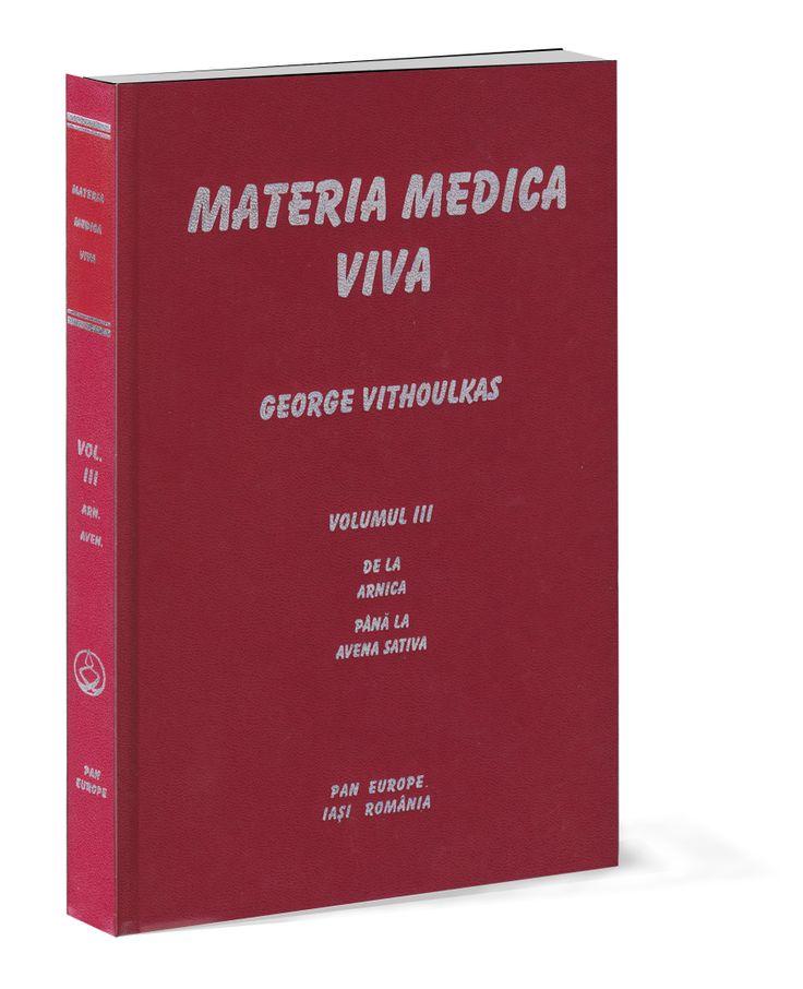 Se pregateste o noua reeditare a celor 12 volume din Materia Medica Viva a prof. Vithoulkas.     Avand in vedere costurile de productie mari, cartea se realizeaza doar pe comanda.  Cei interesati ma pot contacta la tel. 0722760275 / 0751691885 sau pe adresa de mail colectiahomeopata@yahoo.com.