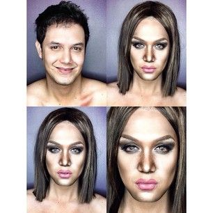 Tyra Banks: | This Guy Has Been Instagramming Himself Made Up Like Female Celebrities