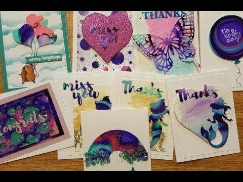 Mary Polanco Designs: Alcohol Ink Backgrounds