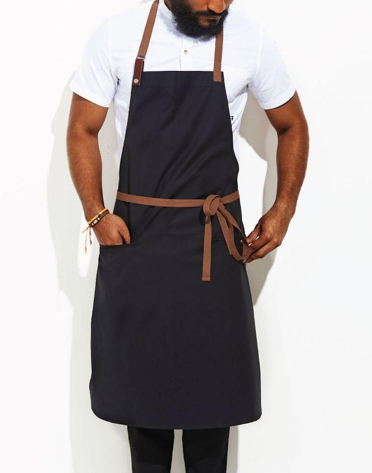 Chef Apron - Olive Wax