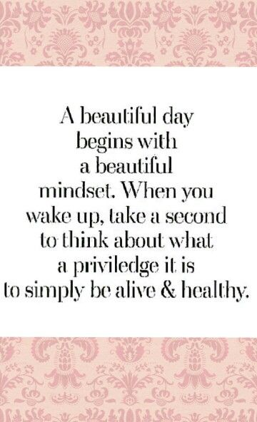 a beautiful day begins with a beautiful mindset quote - photo #9