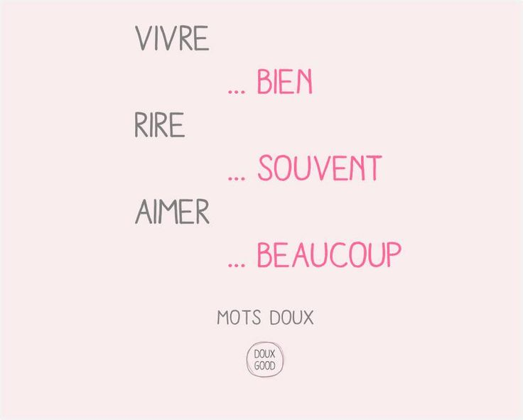Mots doux by Doux Good Vivre, rire et aimer #Motsdoux #DouxGood #bienêtre #beauté #cosmétiques