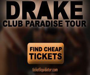 DRAKE-Clup Paradise Tour Tickets. www.vegassportstravel.com