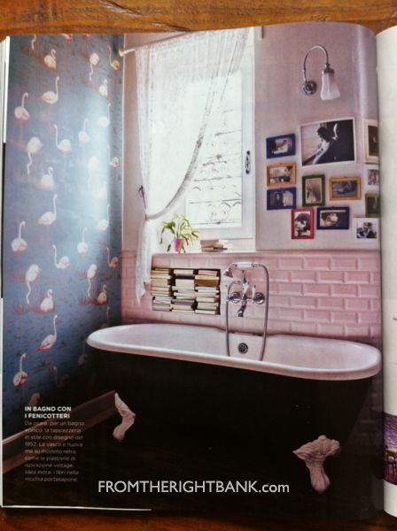 I Spy Pink Flamingo Wallpaper