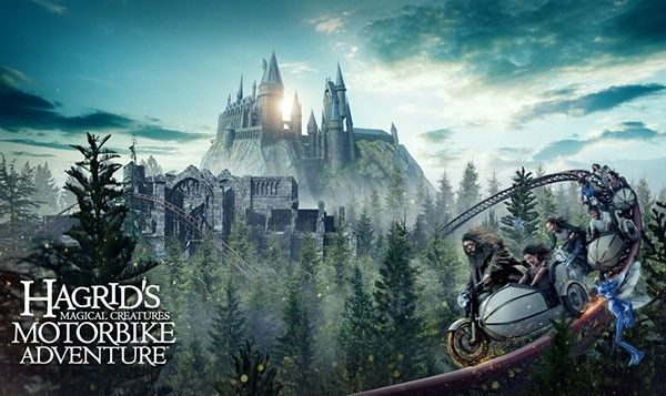 Join Hagrid As You Fly Far Beyond The Grounds Of Hogwarts Castle On An All New Thril Universal Islands Of Adventure Universal Orlando Universal Orlando Resort