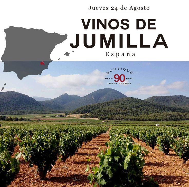 Boutique 90, la tienda de vinos al interior del Restaurante Daniel, trae para usted en su próxima Cena Maridada Vinos de Jumilla España, Jueves 24 de Agosto!  Reserva aquí: http://mailchi.mp/daniel/vinosjumillaespana