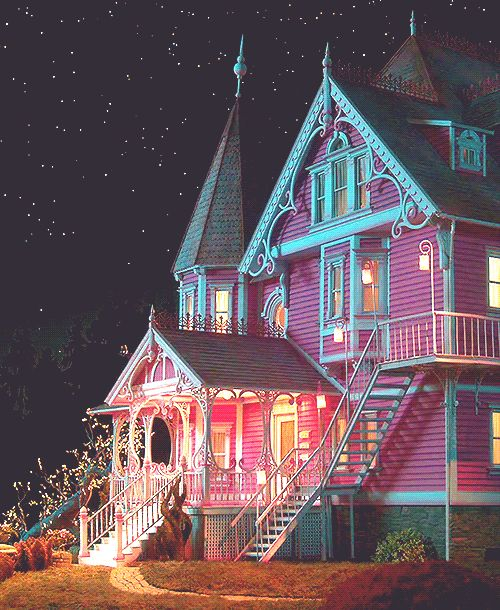 The Pink Palace from Coraline