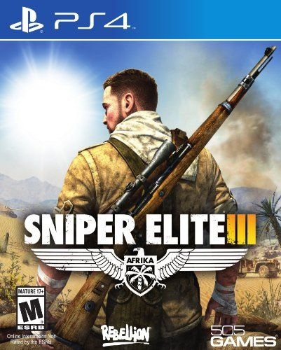 Sniper Elite III - PlayStation 4 Standard Edition - Available at Amazon.