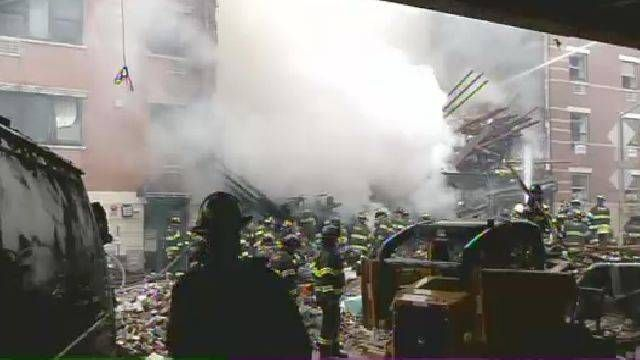 NY1 Noticias - News report in Spanish about the Explosion and Fire in East Harlem, 3/14.  Use for comprehensible input, Realidades 2, Ch. 5A.