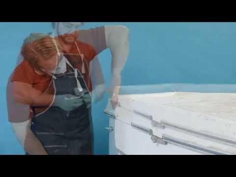 OPTI - How to Repair Deep Cracks in Fiberglass Boats - YouTube