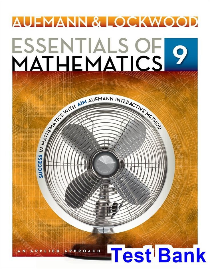 50 best test bank download images on pinterest test bank for essentials of mathematics an applied approach 9th edition by aufmann fandeluxe Image collections