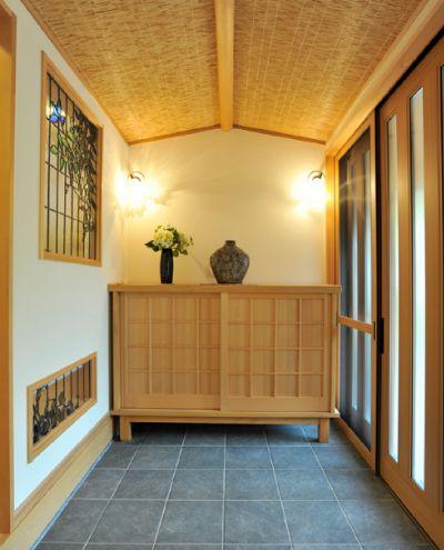 和モダン漂う玄関へ、リフォーム。#玄関#リフォーム#和モダン