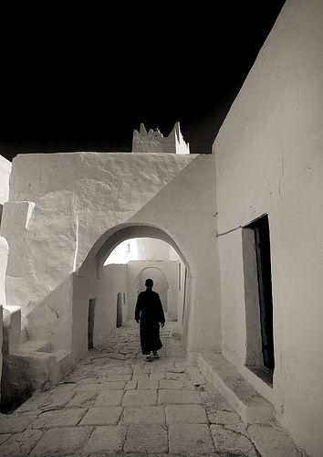 Ghadamis old streets - Libya