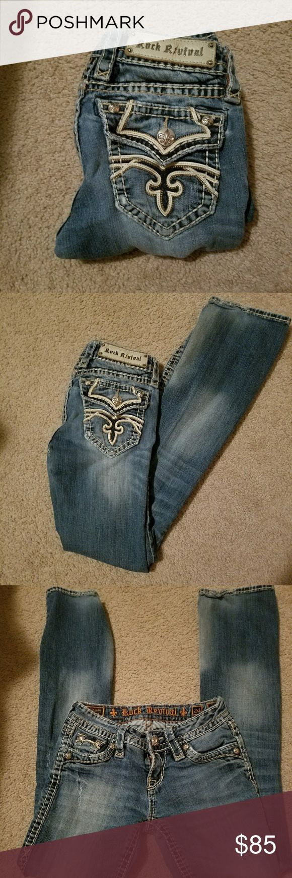 Rock Revival Kelly boot 24/32 Rock Revival Jeans Boot Cut
