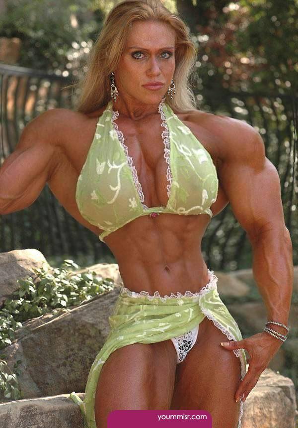 Pictures Girl bodybuilding big muscle women biggest