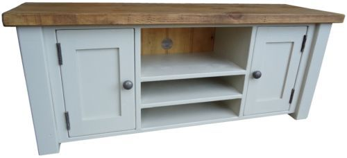 Shabby Chic Painted Plasma TV Unit / Stand. Your Choice Of