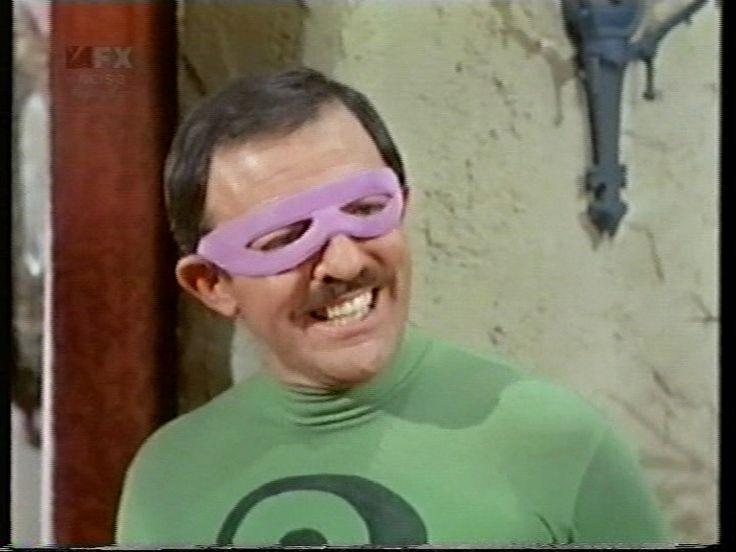 John Astin as The Riddler