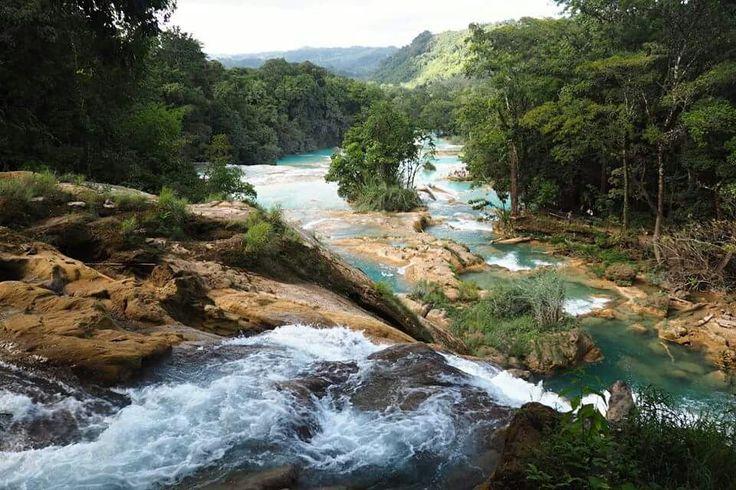 Cascadas de Aqua Azul, Chiapas, Mexico
