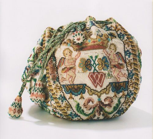 French Bridal Bag 18th century