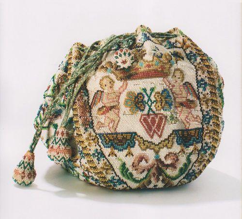 French Bridal Bag 18th century