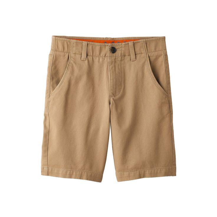 Boys 8-20 Urban Pipeline® MaxFlex Flat-Front Shorts, Boy's, Size: 14, Med Beige