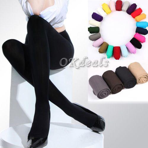 wholesale 8 Colors Women's Spring Autumn Footed Thick Opaque Stockings Pantyhose Tights TS|4d0e9488-7dc5-4fce-924a-ffdbe71f2c5e|Tights