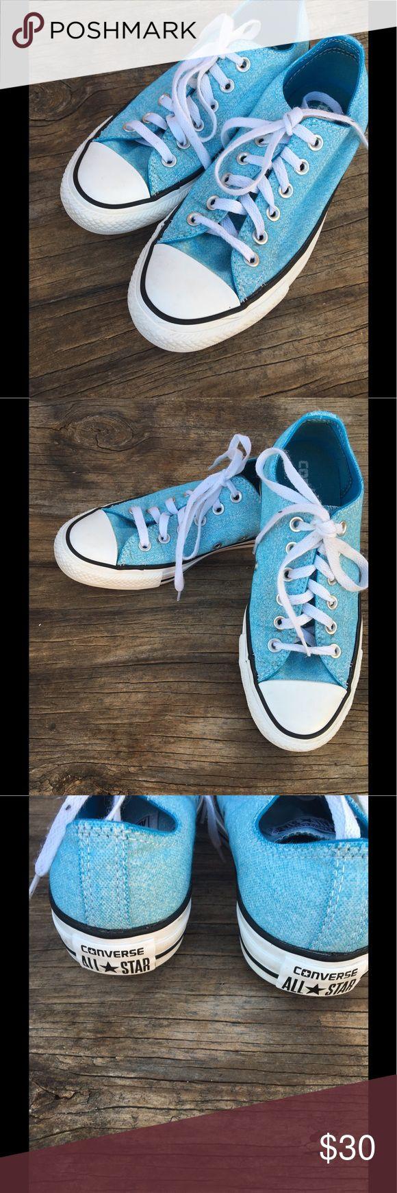 Converse Light blue converse.. Men's 5/Women's 7 Converse Shoes Sneakers
