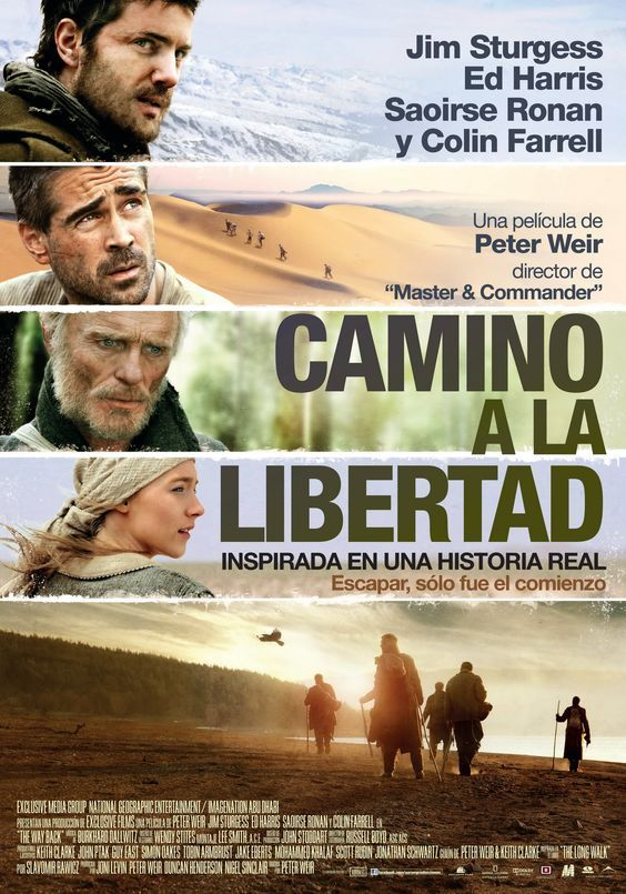 "Camino a la libertad (2010) ""The Way Back"" de Peter Weir - tt1023114"