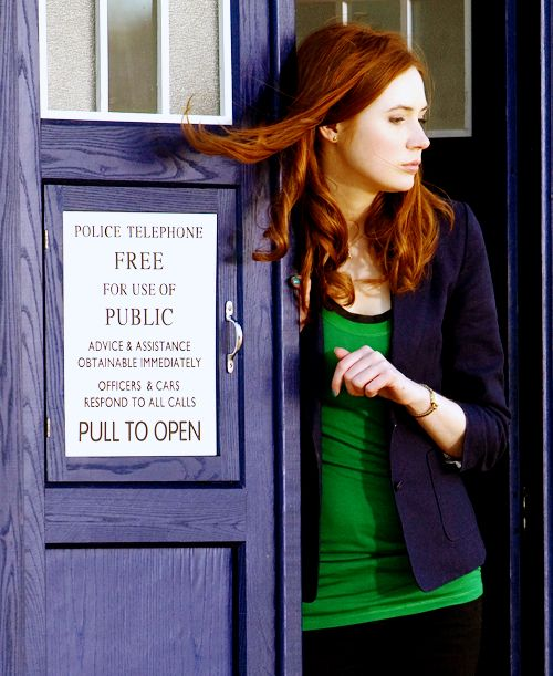 Amy Pond - Yes we'll miss you, but it's not like Clara Oswin isn't feisyin her own way.