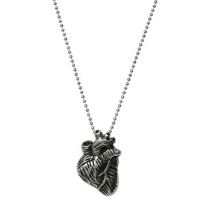 Anatomical Heart Necklace now featured on Fab.