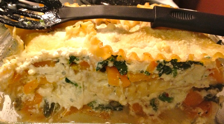 Squash & Broccoli Rabe Lasagna From: http://brunchforbitches.blogspot ...