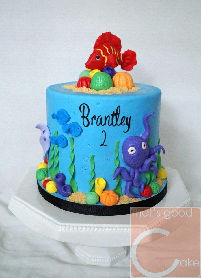 Fish Aquarium Cake