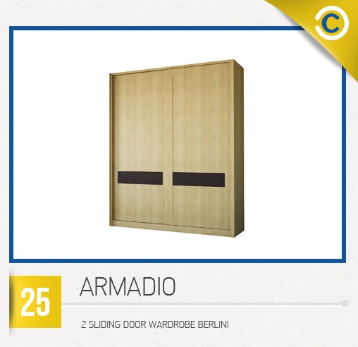 ARMADIO 2 Sliding Door Wardrobe Berlini #MyDreamHome