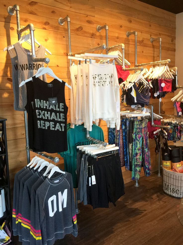 Image result for retail store + industrial clothing display