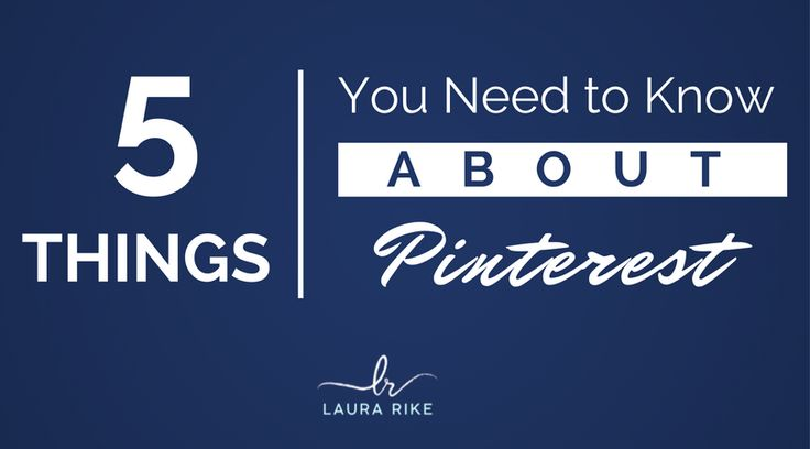 5 Things You Need To Know About Using Pinterest For Business Successfully http://laurarike.com/5-things-need-know-using-pinterest-business-successfully?utm_source=rss&utm_medium=Sendible&utm_campaign=RSS #EnvizionAdvertising