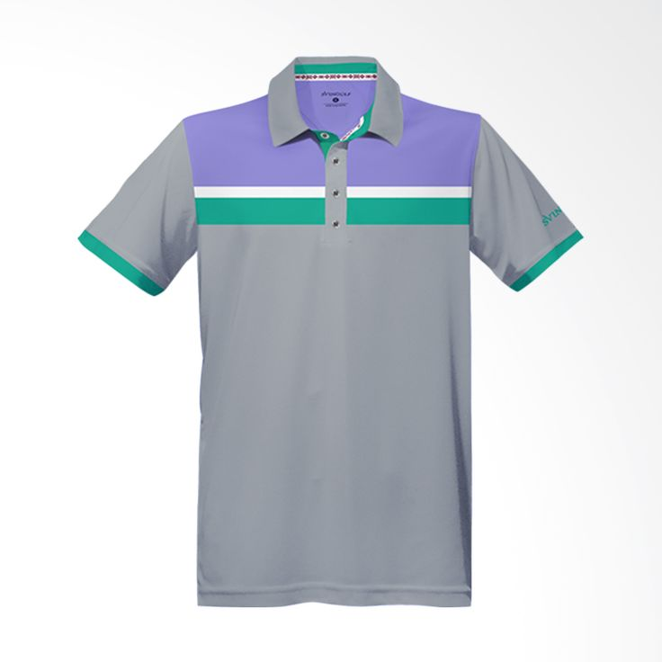 Svingolf Prestige Polo Light Grey Baju Golf
