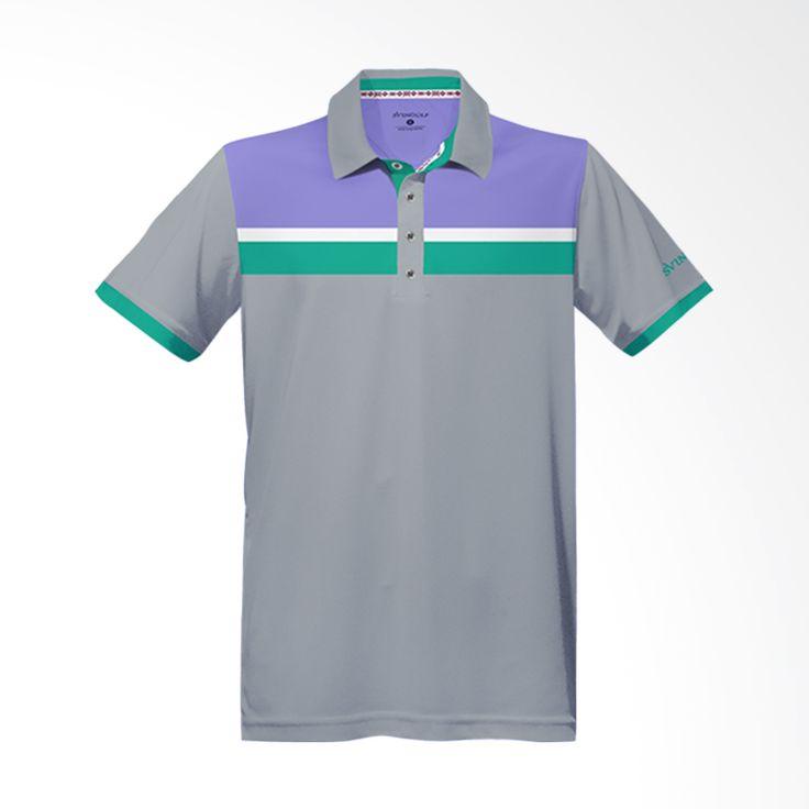 Svingolf Prestige Polo Light Grey Baju Golf
